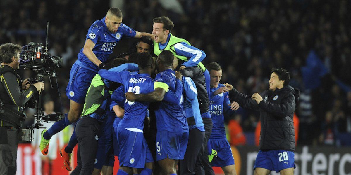 Leicester City mantiene el sueño de la Champions League