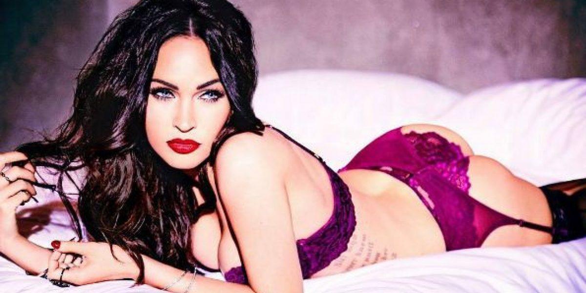 Megan Fox presume sus curvas a 7 meses de haber dado a luz