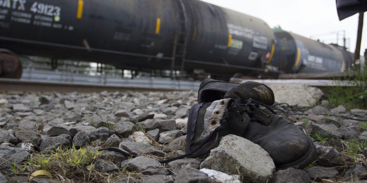 Tren arrolla a migrante centroamericano en Oaxaca