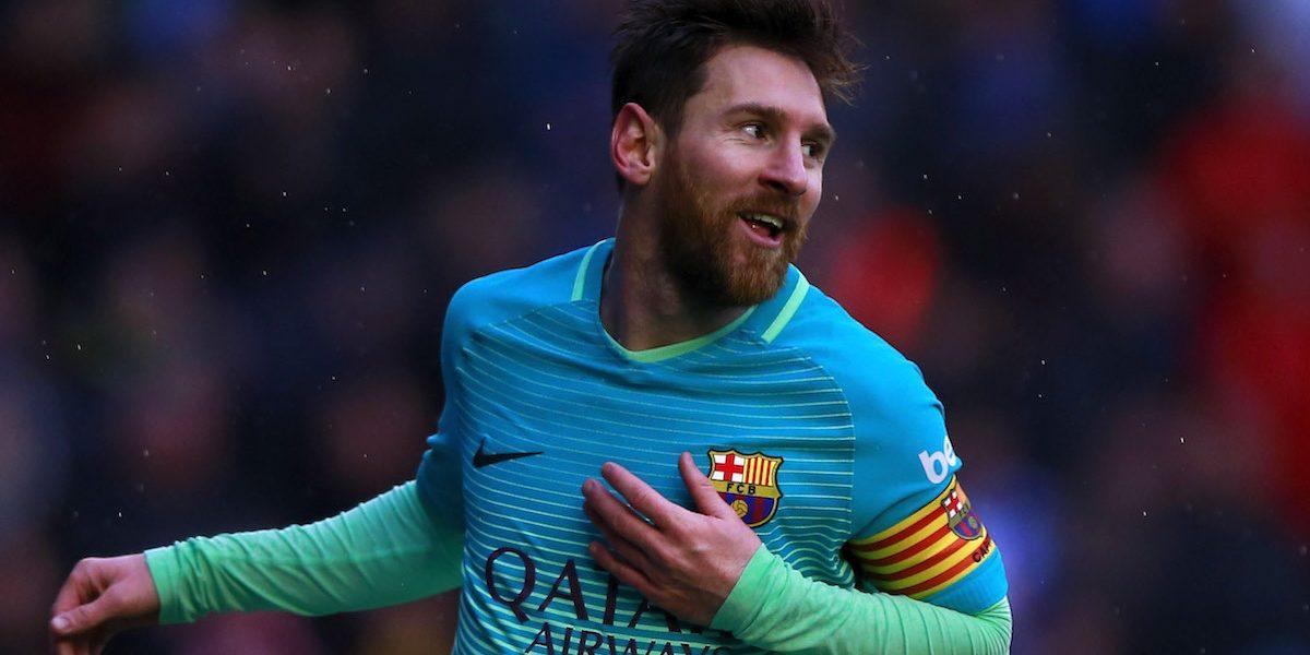 Lionel Messi exige el fin de la guerra en Siria: