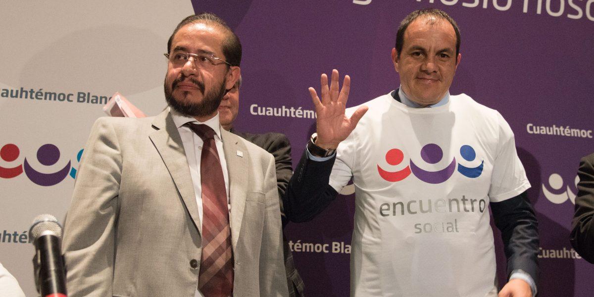 Cuauhtémoc Blanco niega interés por ser gobernador de Morelos