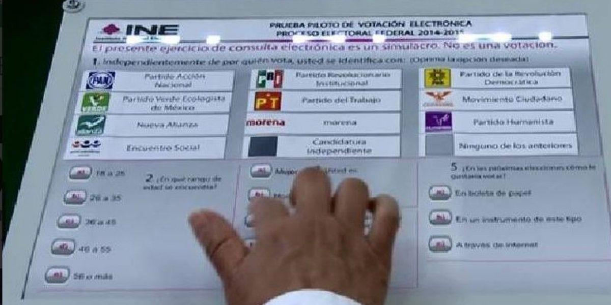 INE cancela voto electrónico en el exterior para 2018