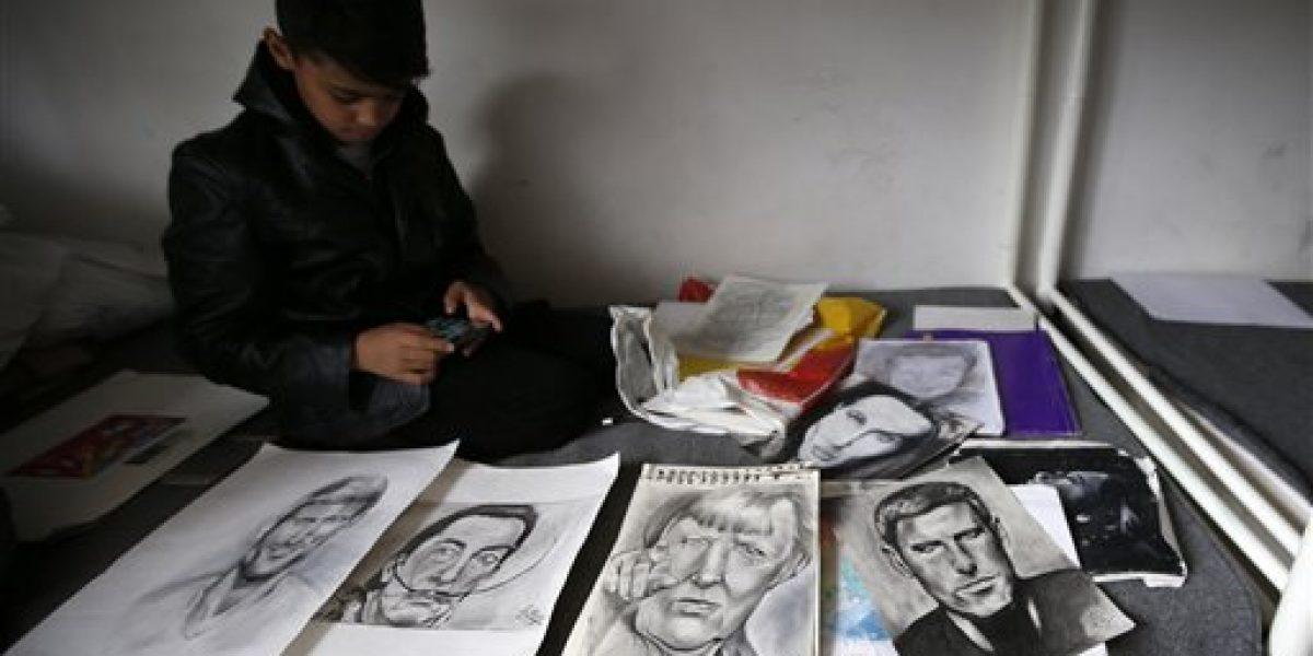 Niño refugiado de 10 años es considerado el nuevo