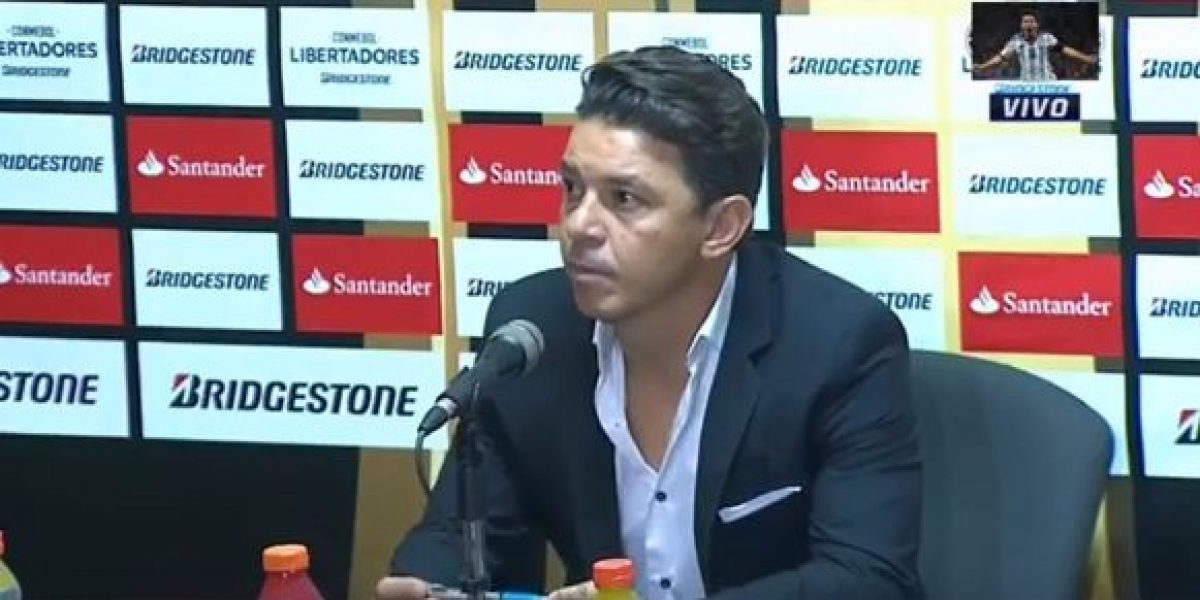 VIDEO: Periodistas abandonan conferencia de prensa de River