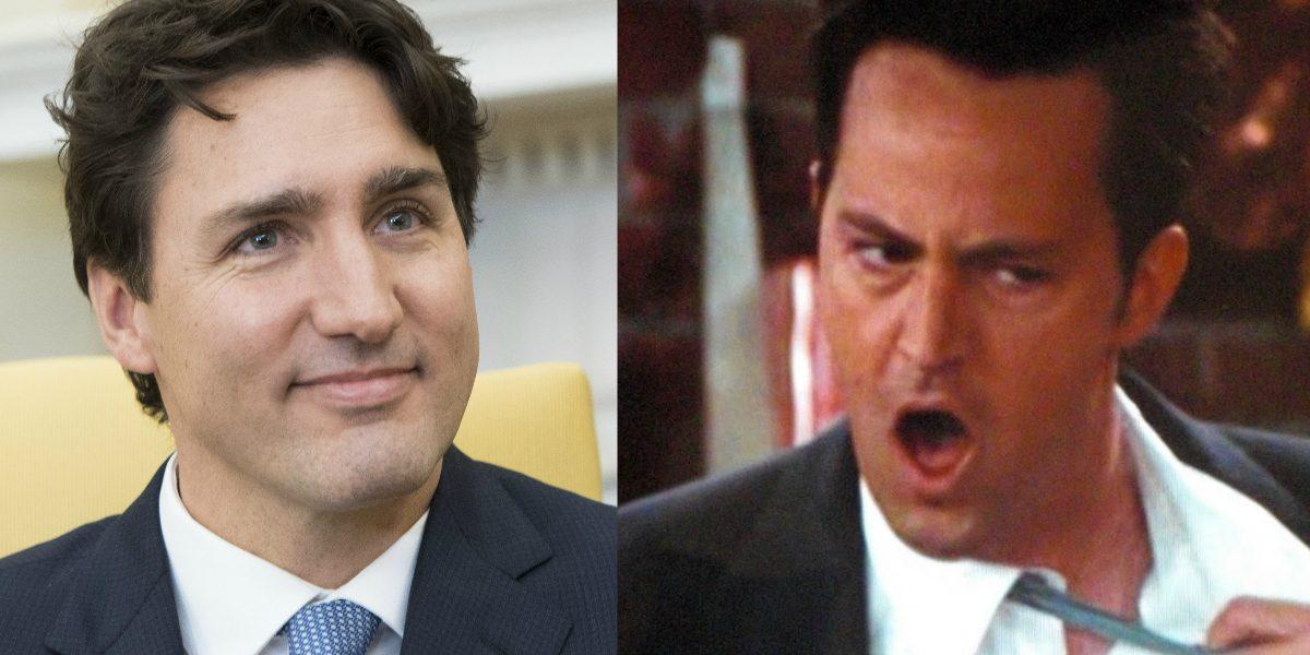 Protagonista de Friends golpeó al Primer Ministro de Canadá por celos