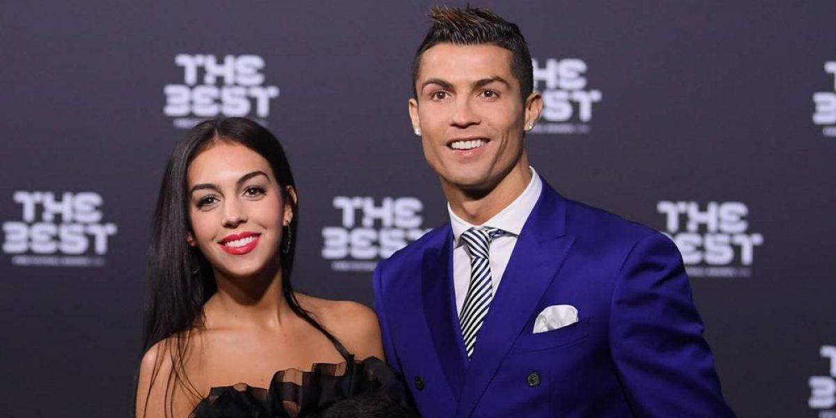 Lanzan una campaña de odio contra la novia de Cristiano Ronaldo