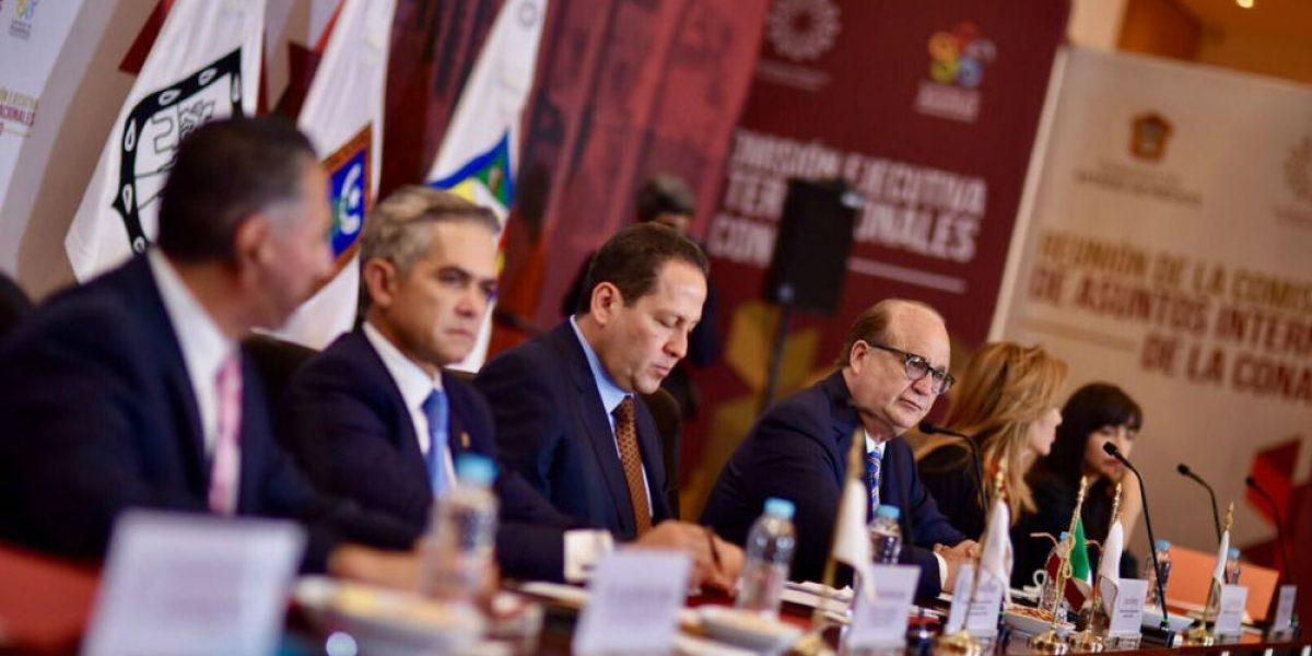 Gobernadores y CIDH acuerdan políticas en defensa de migrantes
