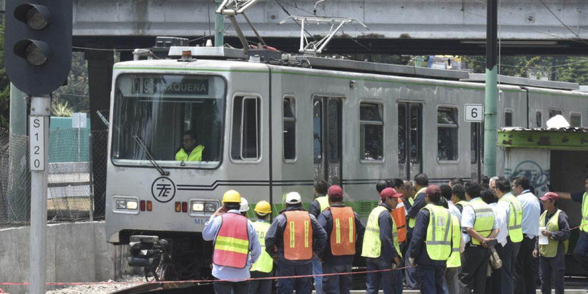 Tren ligero inicia trabajos en varias estaciones por mantenimiento