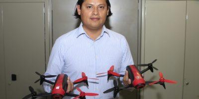 Estudiantes mexicanos diseñan drones con inteligencia artificial