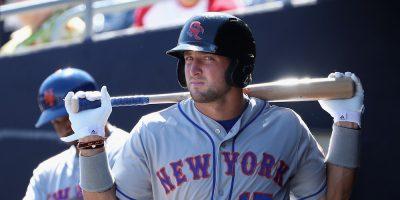 Tim Tebow iniciará la temporada de la MLB en la categoría Clase A baja