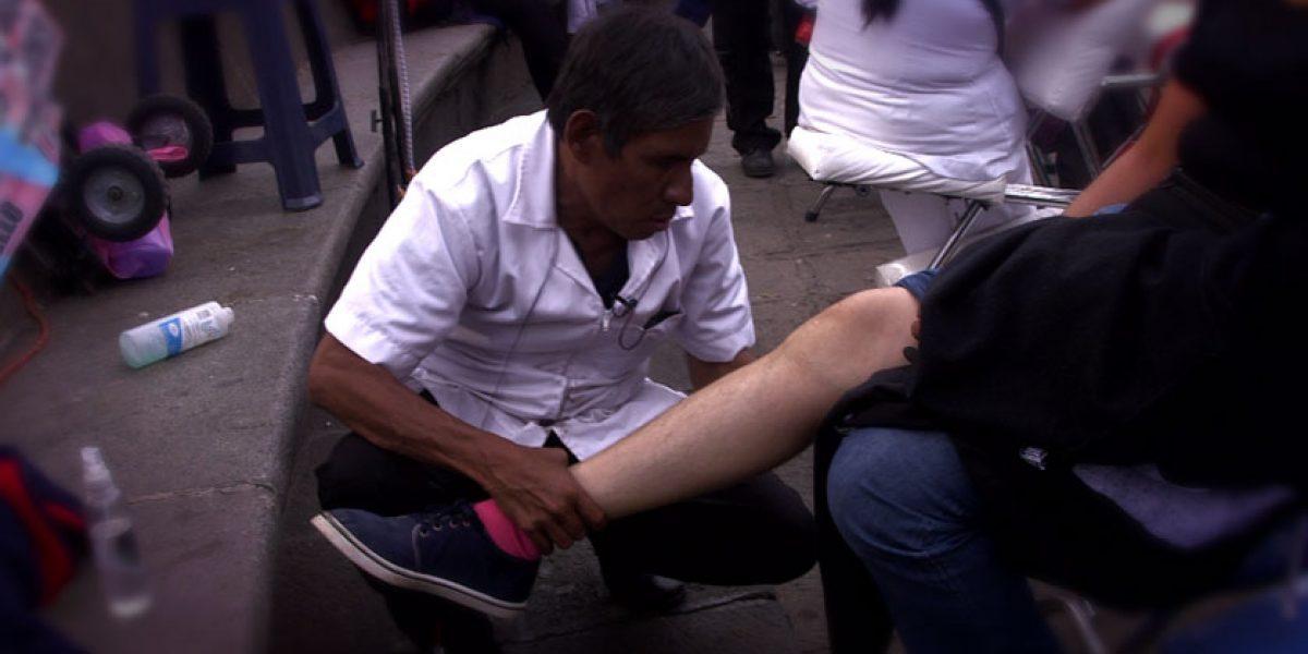 Masajes sensitivos en el corazón de la Ciudad de México