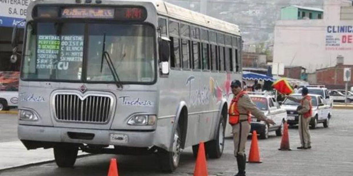 Estalla huelga del transporte urbano en Oaxaca