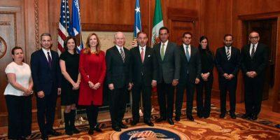 Procuradores de México y EU se reúnen en Washington