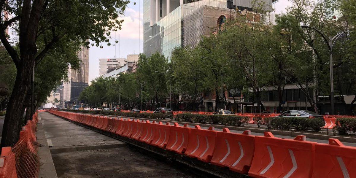 Línea 7 del Metrobús lleva 23% de avance