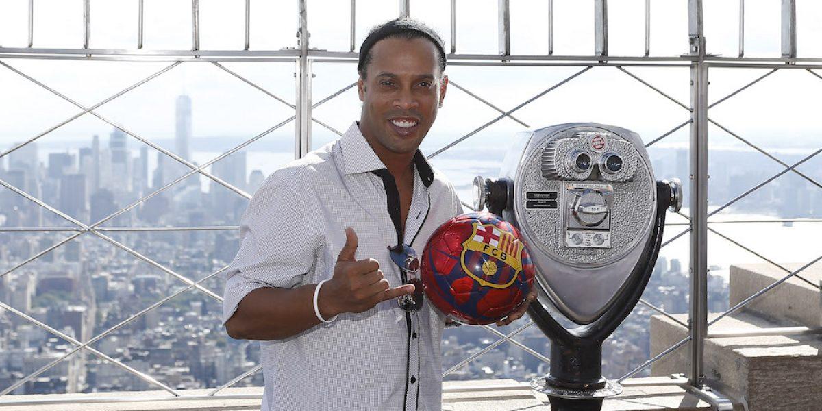 37 años de magia de Ronaldinho