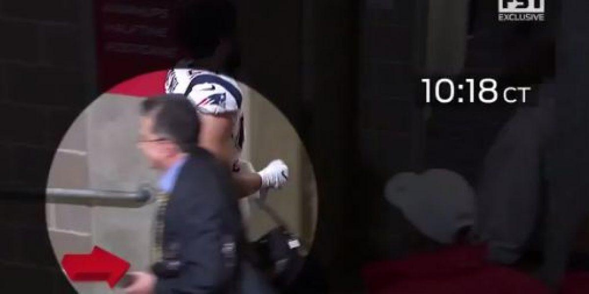 VIDEO: Revelan sin censura el momento en el que fue robado el jersey de Brady