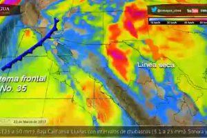 Pronóstico del Tiempo para este 22 de marzo