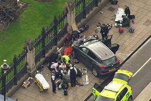 Ataque en Londres: liberan primeras imágenes de tiroteo en parlamento