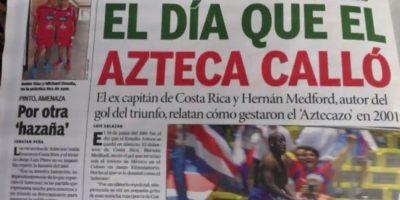 MÉXICO: El 'Chicharito' sale tocado del partido frente a Costa Rica