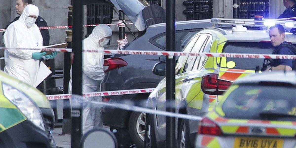 Sube a 5 el número de muertos por ataque en Parlamento británico