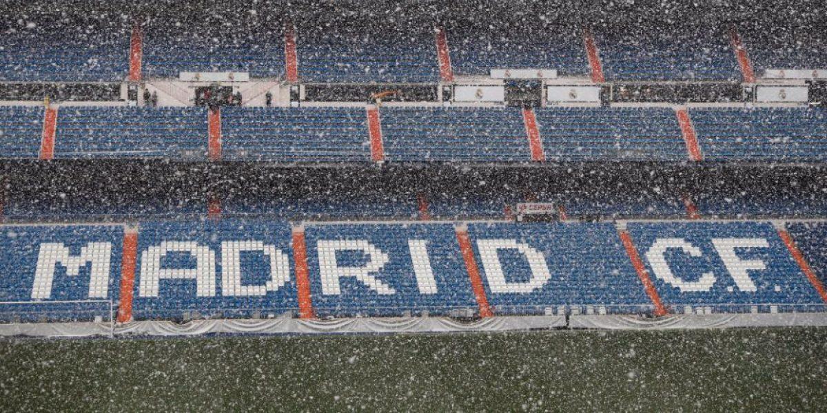 FOTOS: La nieve sorprendió al atleti y al Madrid ¡en plena primavera!