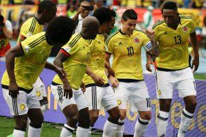 Colombia regresa a zona de clasificación de la mano de James