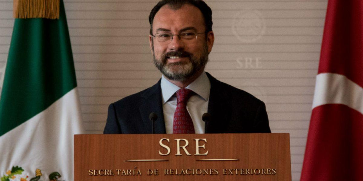 México llega sin miedo a renegociar el TLCAN: Videgaray