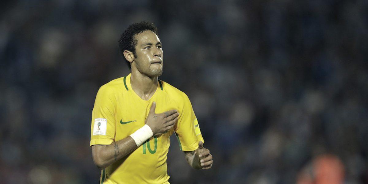 Brasil golea a Uruguay y se afianza como líder en las eliminatorias