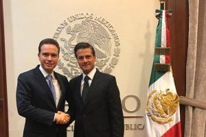 Enrique Peña Nieto y Manuel Velasco fortalecen apoyos para Chiapas