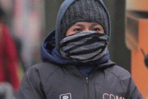 Se presentarán bajas temperaturas en el norte del país
