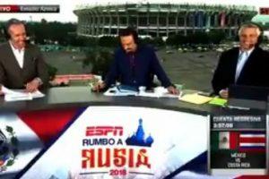 VIDEO: Comentaristas de ESPN se equivocan en transmisión en vivo