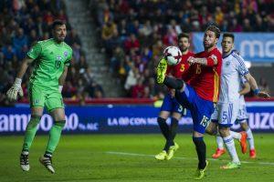 España golea a Israel en las eliminatorias de cara al Mundial de Rusia