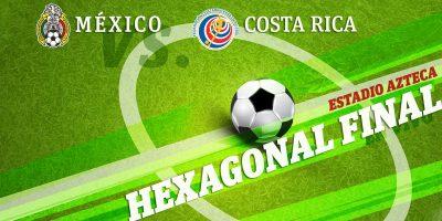 México vence 2-0 a Costa Rica