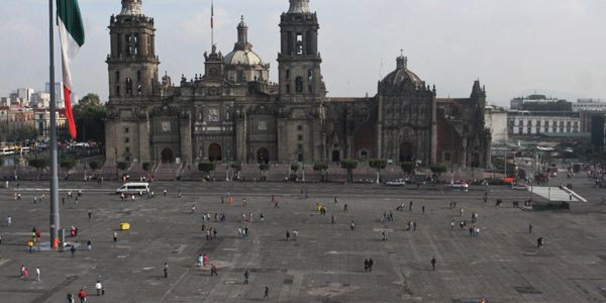 Obras de rehabilitación del Zócalo capitalino inician esta semana