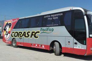 Jugadores de Coras tuvieron que pedir aventón por descompostura de su autobús