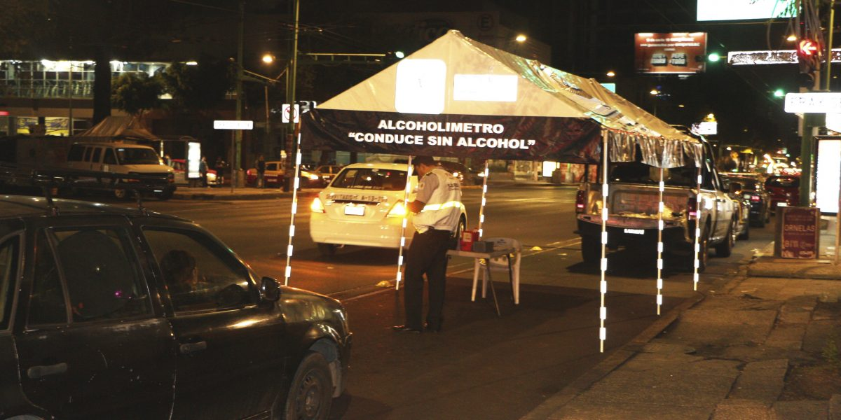 Alcoholímetro operará en Toluca todos los días por Semana Santa