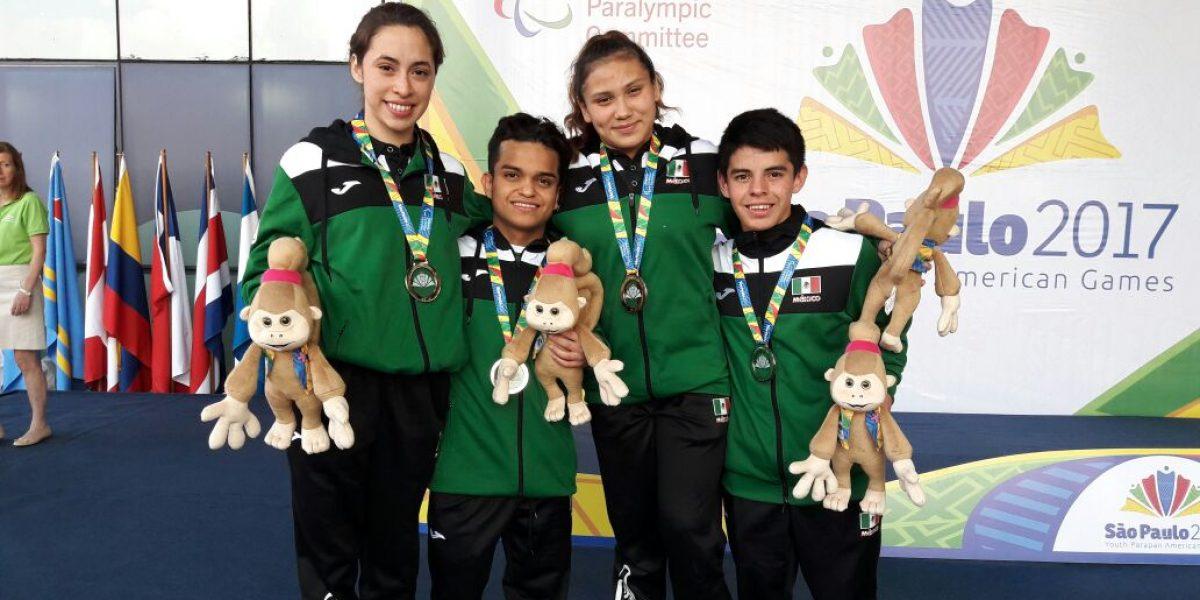 México obtiene 73 medallas en los Juegos Parapanamericanos Juveniles