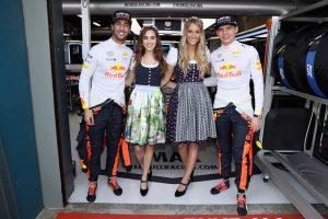 Las chicas del Gran Premio de Australia