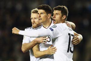Alemania mantiene paso perfecto en las eliminatorias de la UEFA