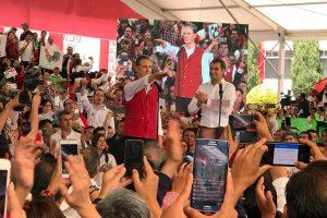 Del Mazo rinde protesta como candidato del PRI al Edomex