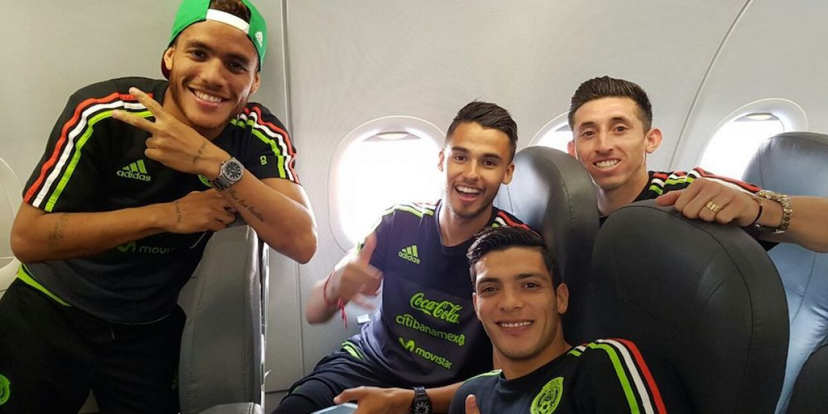 Selección Mexicana viajó a Puerto España donde enfrentará a Trinidad y Tobago
