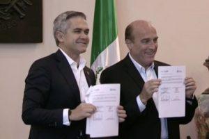 Mancera apunta a presidenciales para desarrollo del país