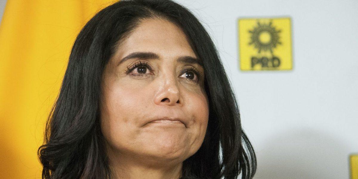 CEN del PRD interponen queja contra Alejandra Barrales