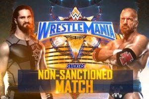 ¡Confirmado! HHH y Seth Rollins se enfrentarán en WrestleMania