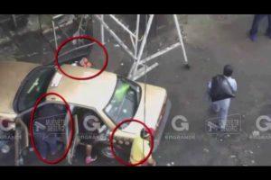Capturan a presunto ladrón gracias a cámaras de videovigilancia en Nezahualcóyotl