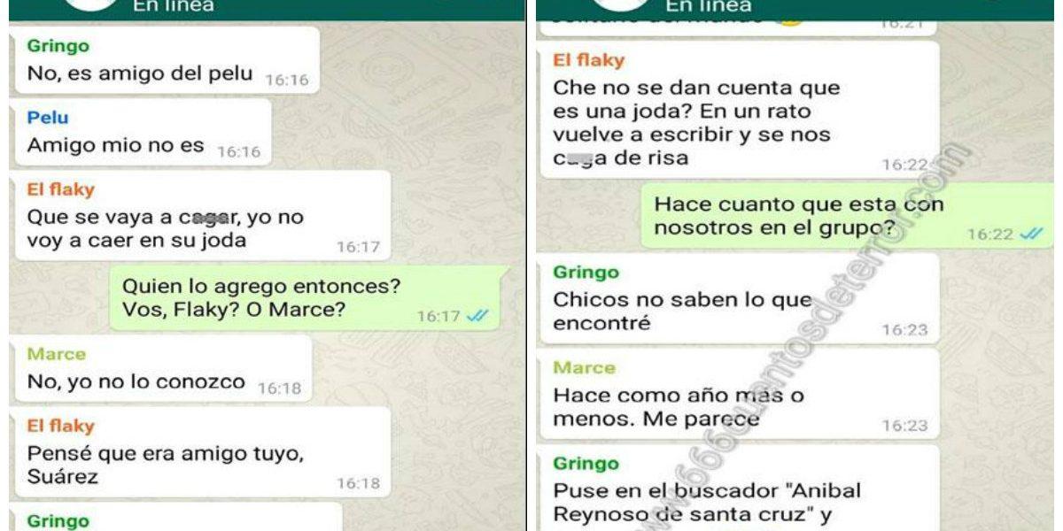 La conversación de Whatsapp cuyo final aterró a todo Argentina