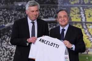 Florentino Pérez habría usado un portal falso para hacer exigencias a Ancelotti