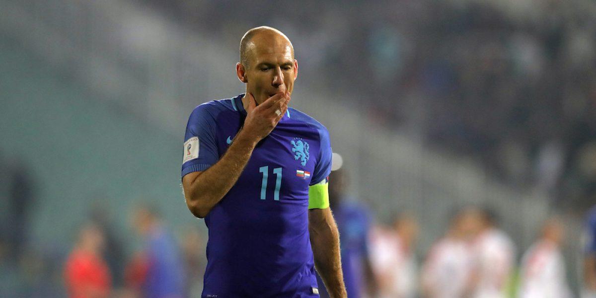 Robben pide que lo tomen en cuenta para elegir al técnico de Holanda