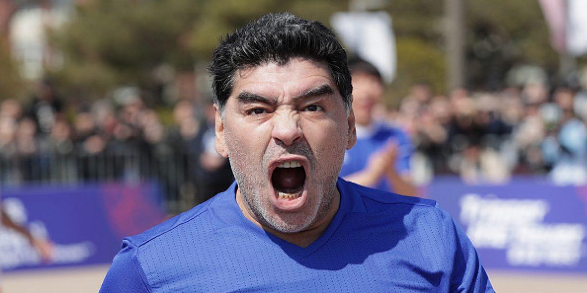Diego Maradona demandará al creador del videojuego PES 2017