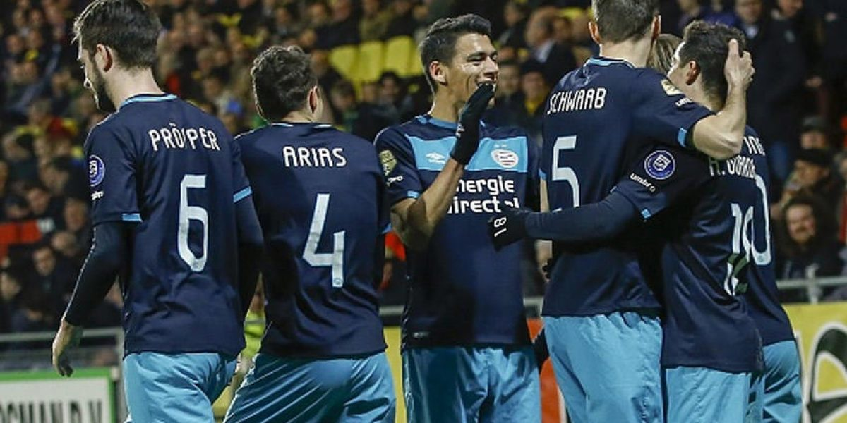 ¡Y eso que Guardado fue banca! Moreno y el PSV son sublíderes momentáneos